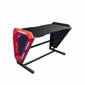 EGT002 Blue glowing light effect gaming desk