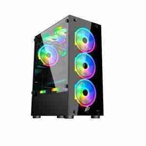 1st Player V2 A Tempered Glass Gaming Case