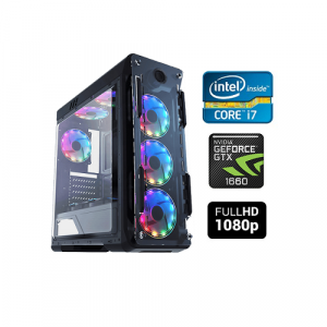 CP BUDGET ENTRY LEVEL GAMING PC CORE I7 16GB RAM GTX 1660