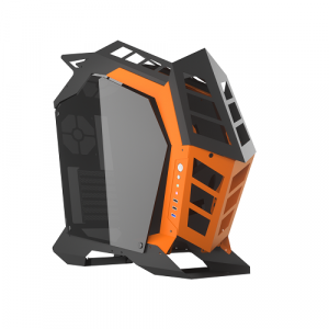 darkFlash Knight Open Frame ATX PC Case Mid Tower Aluminum Gaming Case