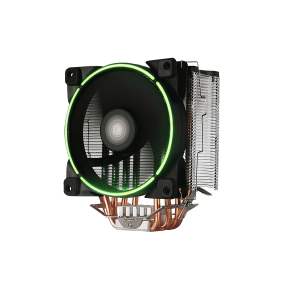 GameMax GAMMA 500 GREEN cpu cooler with heatsink